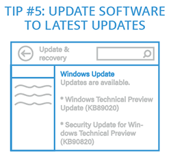Tip 5: Update Software to the Latest Updates