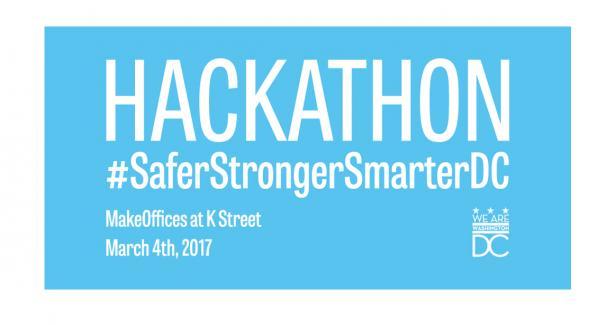 Hackathon #SaferStrongerSmarterDC