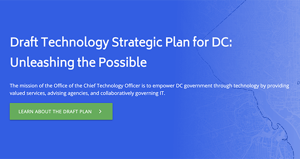 Draft Technology Strategic Plan for DC