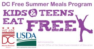 DC Free Summer Meals Program