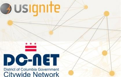 US Ignite - DC-Net logo