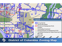DC Zoning Map logo